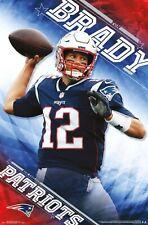 Tom Brady PATRIOT PERFECTION New England Patriots QB NFL Football WALL POSTER