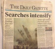 The Daily Gazette Magazine 9/11 Search Continues September 13, 2001 041819nonrh