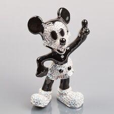 Rare:  Disney Arribas Brothers Jeweled 1920's Mickey Mouse Swarovski Figurine
