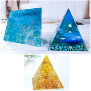 Big DIY Pyramid Resin Mold , Large Silicone Pyramid Molds, Jewelry Making