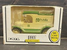 ERTL 1913 FORD Model T Delivery Truck Publix Die-Cast Metal Bank New In Box
