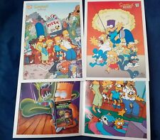Simpsons The Springfield Gallery images 1 2 & two Halloween collectables comics