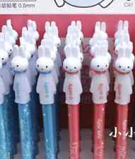 US 2pcs Kawaii 0.5mm Mechanical pencil M&G Miffy Rabbit Bunny Figure Head cute
