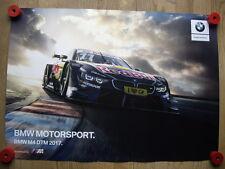 BMW M4 DTM BMW Team RMG Marco Wittmann Poster  Motorsport Racing Car M4 DTM
