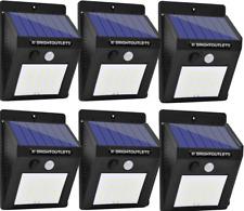 Outdoor Solar Lights, Motion Sensor Light 8LED Lights for Home Security (12Pk)