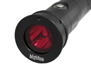 BigBlue Light Red Filter Snap On Scuba Diving Fits the AL1200np FILREDNPII