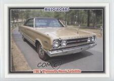 1992 Collect-A-Card Musclecars #87 1967 Plymouth Hemi Satellite Card 3a3