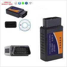 OBD2 Car Bluetooth Wifi Diagnostics Scanner Code Reader ELM327 Tool Android iOS