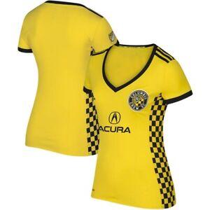 Adidas MLS Columbus Crew SC Jersey Yellow/Black DH3818