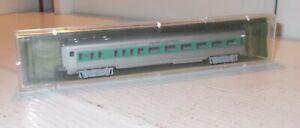 N SCALE TRAIN PASSENGER CAR EXCELLANT AURORA PENN CENTRAL 4893