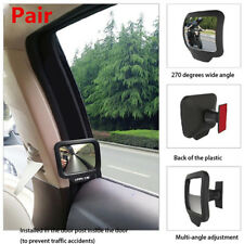 270°  Wide Angle Car Rear Magnet Auxiliary Rearview Eliminate Blind Point Mirror