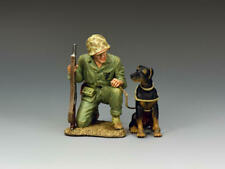 King & Country Soldiers USMC052 US Marine Corps Pacific War Dog