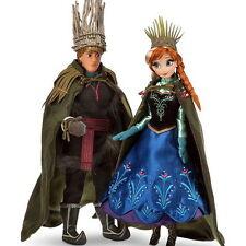 Disney Fairytale Designer wedding ANNA & KRISTOFF Dolls Heroes Villains LE 6000