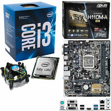 INTEL Core i3 7100 3.9Ghz, ASUS H110M-A/M.2 NO RAM