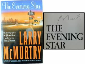 Larry McMurtry SIGNED, The Evening Star, 1992 1st Printing