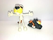 Vintage Subway  Chester Cheetos Cat Mascot Bendee Astronaught & Motorcycle Toys