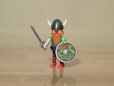 Playmobil - Guerrier viking roux longue barbe - Etat neuf