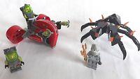 LEGO 8057 Atlantis Wreck Raider & 8056 Atlantis Monster Crab Clash/minifigs