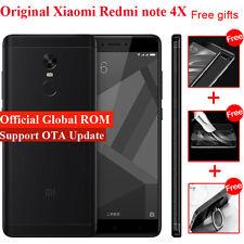 """Original Xiaomi Redmi Note 4X 5.5"""" MIUI 8 64GB 4G LTE Smartphone MTK Helio X20"""