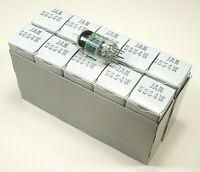 1x GE JAN 5654 = 6AK5W Miniaturpentode Langlebeversion der EF95 / NOS/NIB/OVP