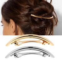 Vintage Frauen Mädchen Haarspange Haarklammer Haarschmuck Pferdeschwanz Clip