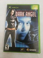 Dark Angel James Cameron's Microsoft Xbox Video Game Free Fast Shipping