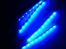 Superbright RC Blue Underbody Underglow LED Strip Lights FPV Quadcopter 6""