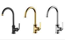 Gold, Chrome, Black mixer Kitchen Faucet Sink Tap Single Handles Basin Faucet