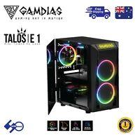 PC Computer Case Gamdias Talos E1 Tempered Glass Micro-ATX with 2x120mm ARGB Fan