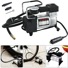 Mini Compressore Aria Portatile Auto 12V 140PSI 3 Connettori Bici Gonfiabili