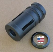 "Rousch SCA Muzzle Brake Compensator 5/8""-24+Crush Washer .308 7.62 300 blackout"