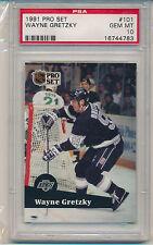 1991 Pro Set Wayne Gretzky (HOF) (#101) PSA10 PSA