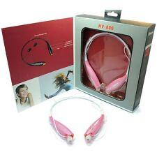 Deportes Bluetooth Inalámbrico Manos Libres Auriculares Auricular Auricular Estéreo-Rosa