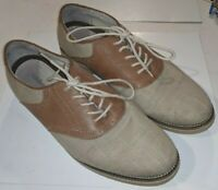 G.H. Bass Carson  Mens Tans / Brown Casual Lace Up Oxfords Shoes 10.5 D