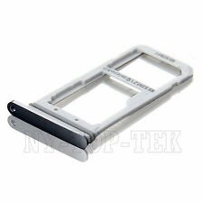 New Black Dual Sim Card+MicroSD Holder Slot Tray For Samsung Galaxy S7 Edge G935