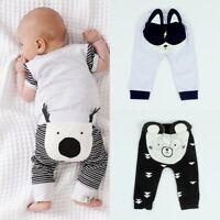 Newborn Toddler Baby Boy Girl Animal Print Bottoms Harem Pants Leggings Trousers