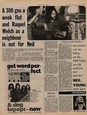 Neil Young UK Interview Article 1971