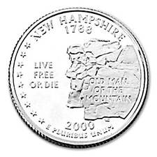 2000-S NEW HAMPSHIRE  STATE  PROOF QUARTER