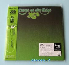 YES Close To The Edge Japan mini LP CD SHM 1. Issue brand new & still sealed