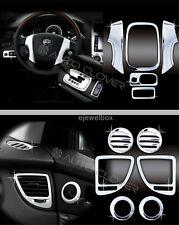 Chrome Interior Molding Trim Cover Set for 2005-2009 Kia Sportage w/Tracking No