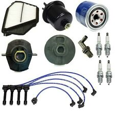 Honda Accord 2.2 94-97 Tune Up Kit NON-V-tec Filters Pcv Cap Rotors Wires Plugs