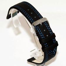 Di Modelo Colorado Negro Correa De Reloj: punto azul: de 18 mm, de 20 mm Y 22mm (O5 Azul)