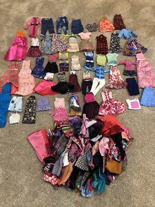 Huge 125 pc Lot Barbie Fshionista Clothes