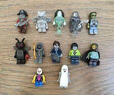 12 x Lego Minifigures Bundle - Zombie Ghost Banshee Fly Monster Skeleton Spectre