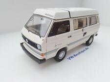 + VOLKSWAGEN VW T3 a Bus Camper Westfalia Joker weiss von Schuco 1:18  450038600
