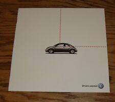 Original 2003 Volkswagen VW Beetle Convertible Sales Brochure 03