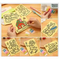 2X Colorful Sand Painting Picture Kid Children Education Intelligence DIY Toy