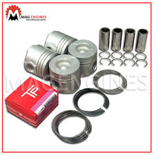 PISTON & RING SET 0.50 SIZE TOYOTA 1ND-TV FOR YARIS AURIS & MINI COOPER 1.4 LTR