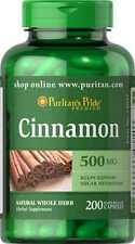 Cinnamon 500 mg x 200 Capsules  **AMAZING PRICE**
