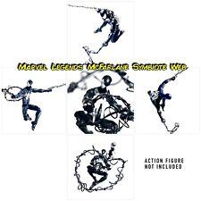 Marvel Legends Spiderman Custom Web 2.0 Symbiote